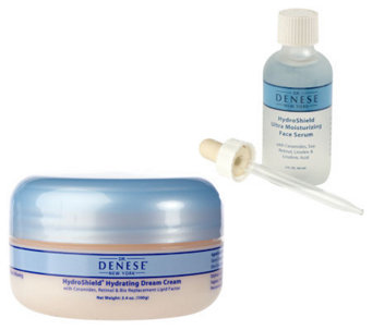 Dr. Denese Super-size HydroShield Serum & Dream Cream Duo - A11026