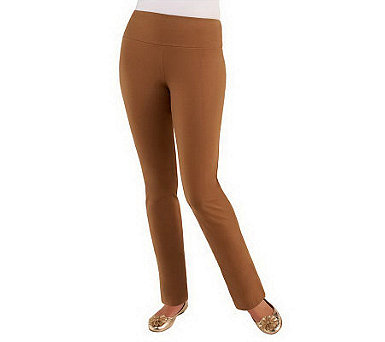 Women with Control Slim Leg Pants with Tummy Control Panel - A225326