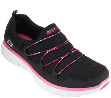 Skechers Bungee Slip-on Sneakers w/ Memory Foam - Good Stuff