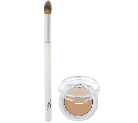 STROKE of BEAUTY Skin Finish Concealer with Brush