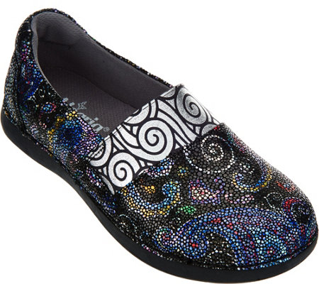 Alegria Leather Slip-on Shoes - Glee
