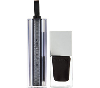 Givenchy Rouge Interdit Temptation Black Magic Lip and Polish - A284826
