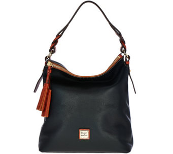 """As Is"" Dooney & Bourke Pebble Leather Small Sloan Hobo - A290626"