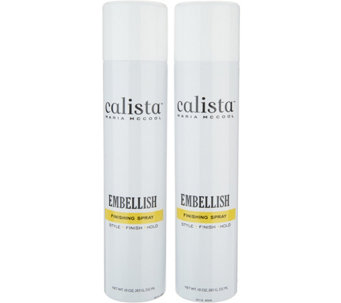 Calista Embellish Volume Finishing Spray Duo - A291626