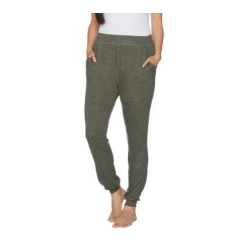 AnyBody Loungewear Petite Brushed Hacci Jogger Pants