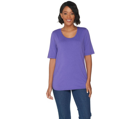 Susan Graver Modern Essentials Cotton Modal Top