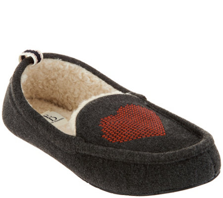 ED by Ellen Degeneres Heart Slippers - Winhart