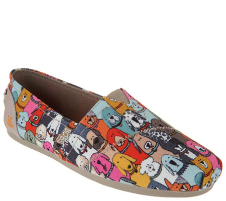 Skechers BOBS Dog Wag Slip-On Shoes -Party