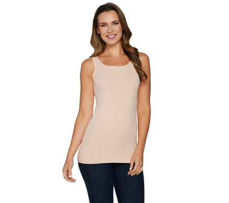 """As Is"" Spanx Seamless Long Line Tank"