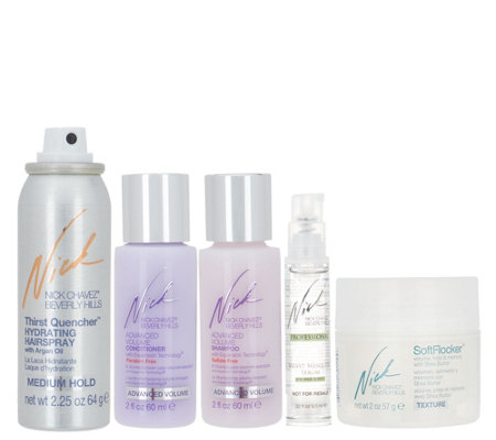 Nick Chavez Beauty Favorites Cleanse & Style Kit
