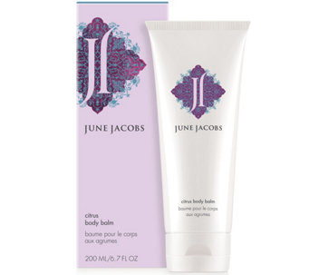 June Jacobs Citrus Body Balm, 6.7 oz - A313526