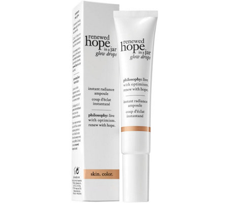 philosophy renewed hope glow drops, 0.5 oz