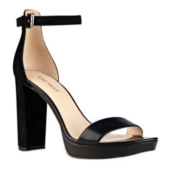 Nine West Suede Sandals - Dempsey