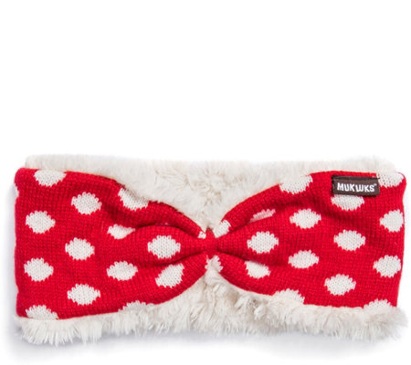 MUK LUKS Women's Reversible Headband