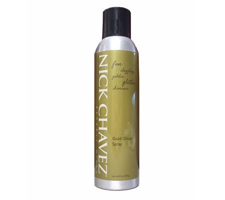 Nick Chavez Gold Glitter Spray - 8 oz.