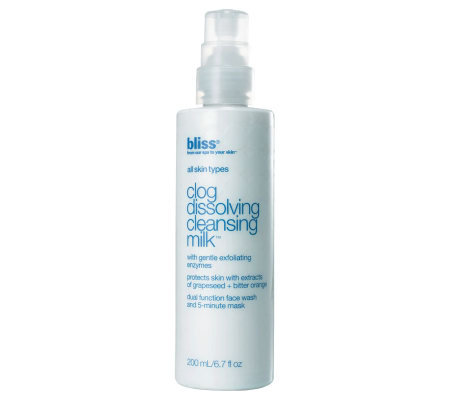 bliss Clog Dissolving Cleansing Milk, 6.7 oz