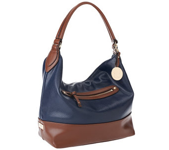 Liz Claiborne New York Top Zip Pocket Hobo - A251527