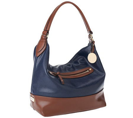 Liz Claiborne New York Top Zip Pocket Hobo