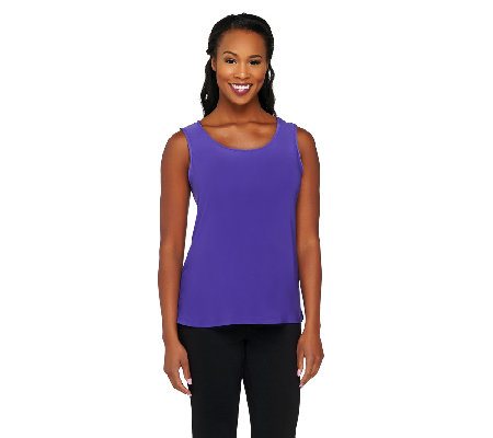 Joan Rivers Wardrobe Builders Knit Tank