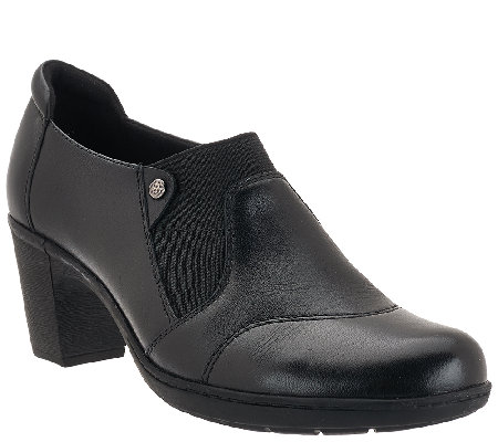 Earth Leather Booties with Side Goring - Beatrice