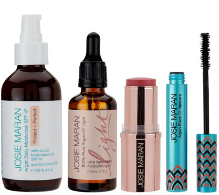 Josie Maran Argan Oil Love & Light 4 Piece Collection