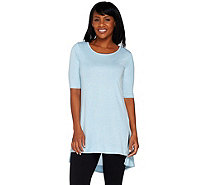Lisa Rinna Collection Knit Tunic with Side Slits - A278427