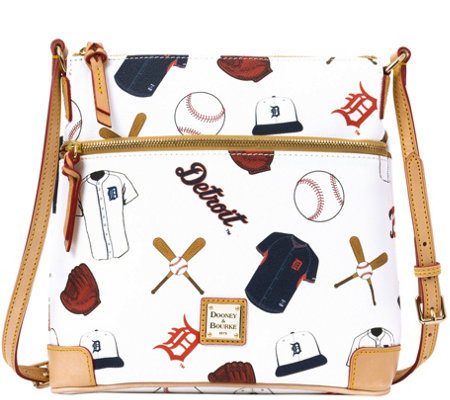 Dooney & Bourke MLB Tigers Crossbody