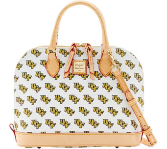 Dooney & Bourke NCAA University of Central Florida Zip Zip Satchel - A283227