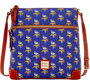 Dooney & Bourke NFL Vikings Crossbody - A285727