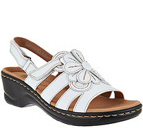 Clarks Leather Lightweight Sandals - Lexi Venice - A288927