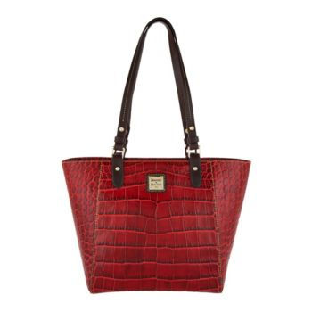 Dooney & Bourke Croco Leather Tote_Handbag -Janie