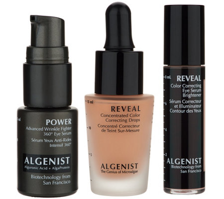 Algenist REVEAL Dark Circle Correcting Trio