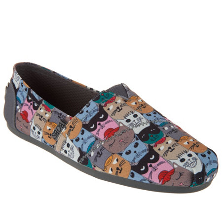 Skechers BOBS Choice of Dog or Cat Slip-On Shoes -Party