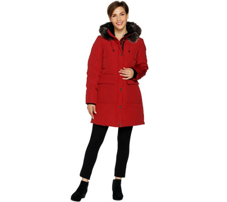 """As Is"" Arctic Expedition Women's Quilted Down Coat"