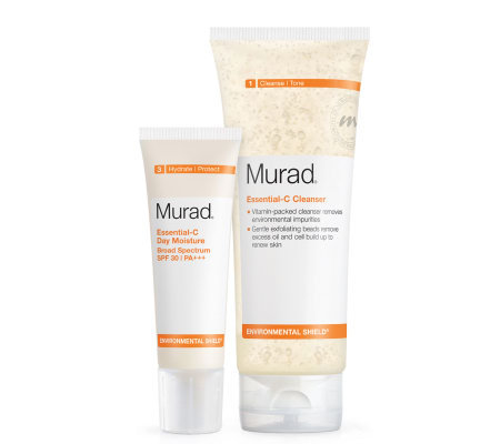 Murad Essential C Cleanser and Moisturizer Duo