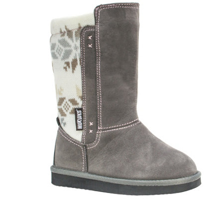 MUK LUKS Girls' Stacy Boots