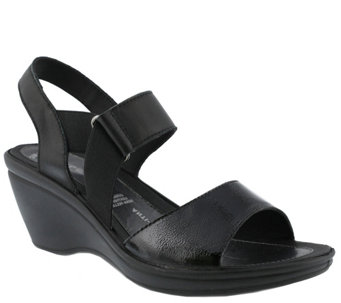 Flexus by Spring Step Leather Sandals - Karan - A340427