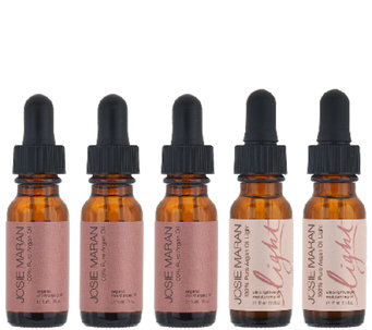 Josie Maran 5-Piece Argan Oil & Argan Oil LightCollection - A340527