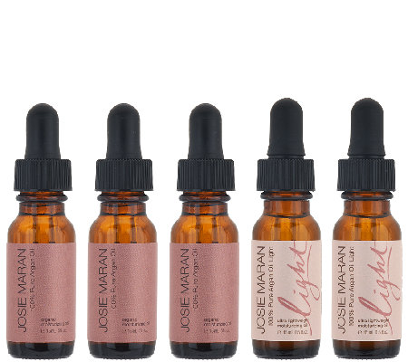 Josie Maran 5-Piece Argan Oil & Argan Oil LightCollection
