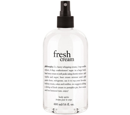 philosophy body spritz, 16 oz
