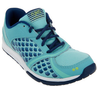 Ryka Mesh Lace-up Training Sneakers - Kinetic - A268628
