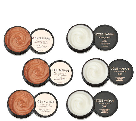Josie Maran Set of 6 Body Butters Auto-Delivery