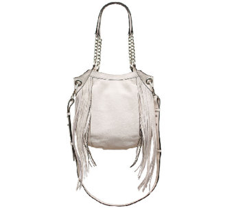 """As Is"" orYANY Italian Leather Shoulder Bag - Malia - A272028"