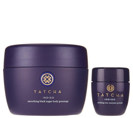 TATCHA Indigo Body Gommage & Travel-Size Enzyme Powder