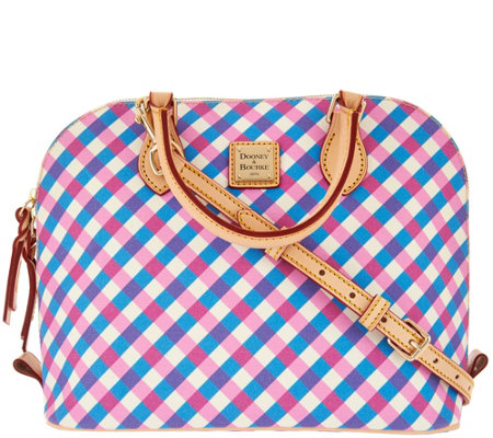 """As Is"" Dooney & Bourke Elsie Zip Zip Satchel"