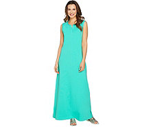 Denim & Co. Regular Sleeveless Perfect Jersey Maxi Dress - A290128