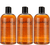 philosophy gingerbread man 3-in-1 shower gel trio - A294028