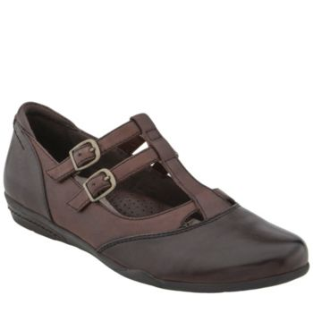 Earth Leather Mary Janes - Gemma