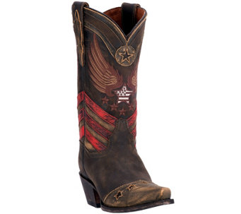 Dan Post Leather Cowboy Boots - N'Dependence - A356528