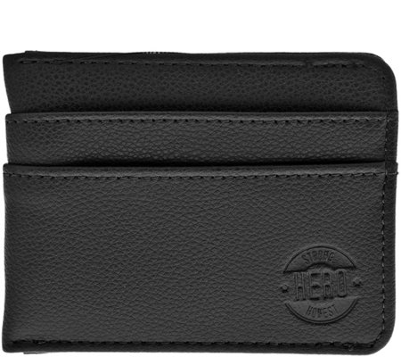 HERO Goods Benjamin Wallet, Black